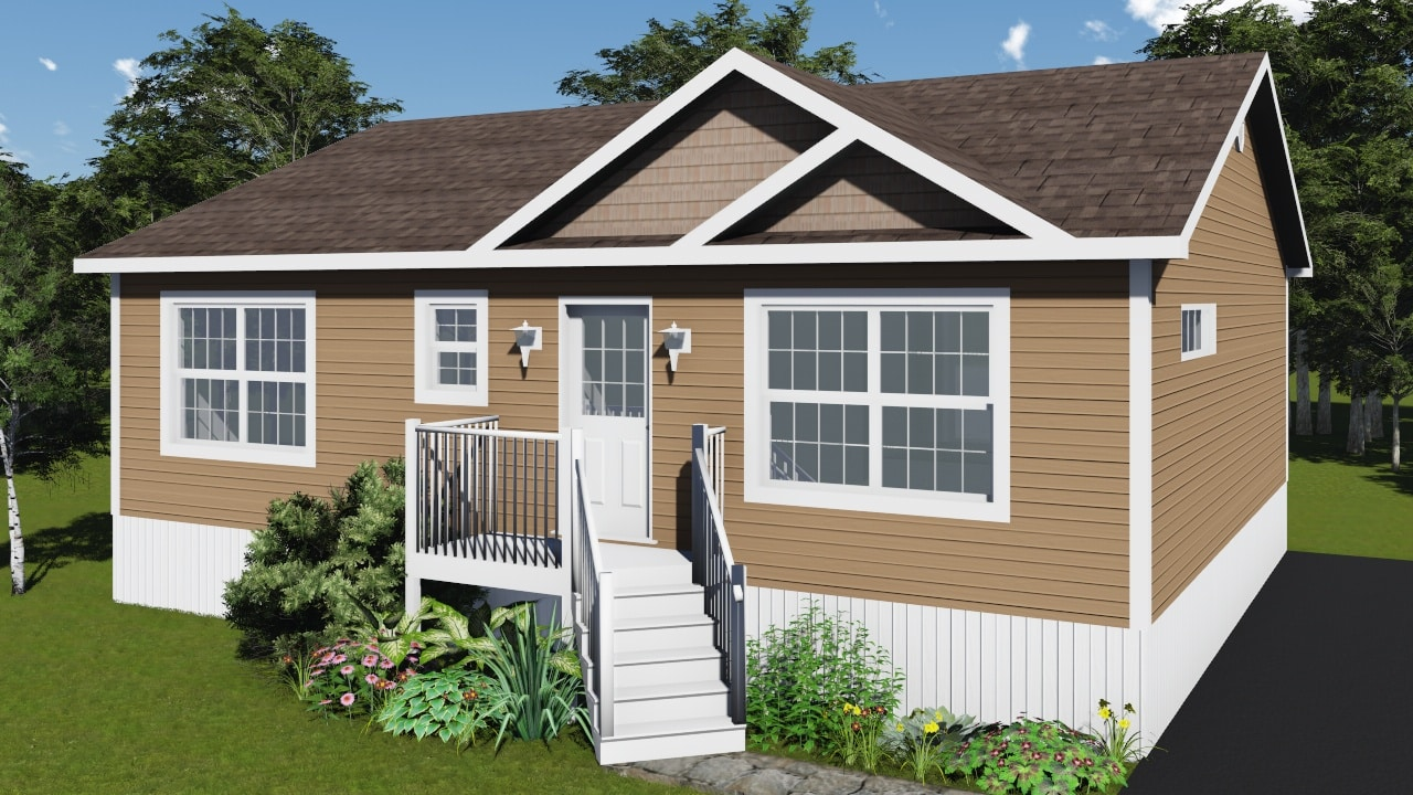 Briar by kent homes build in canada for Cottage plans canada