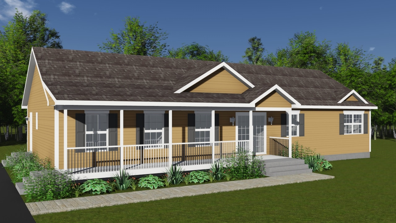 Hartford by kent homes build in canada for Home builders in canada