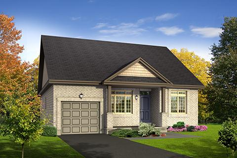 Vermont with Loft by Claridge Homes