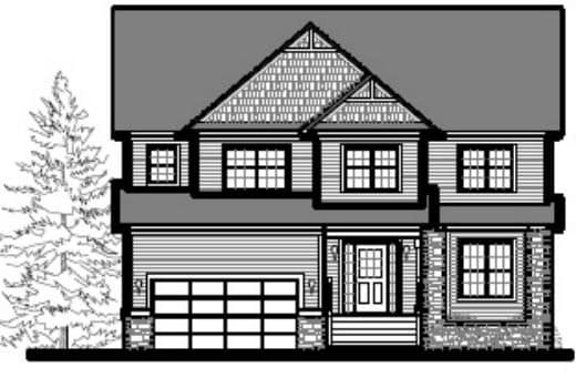 Plan WCH-2 by WCH Home Builders