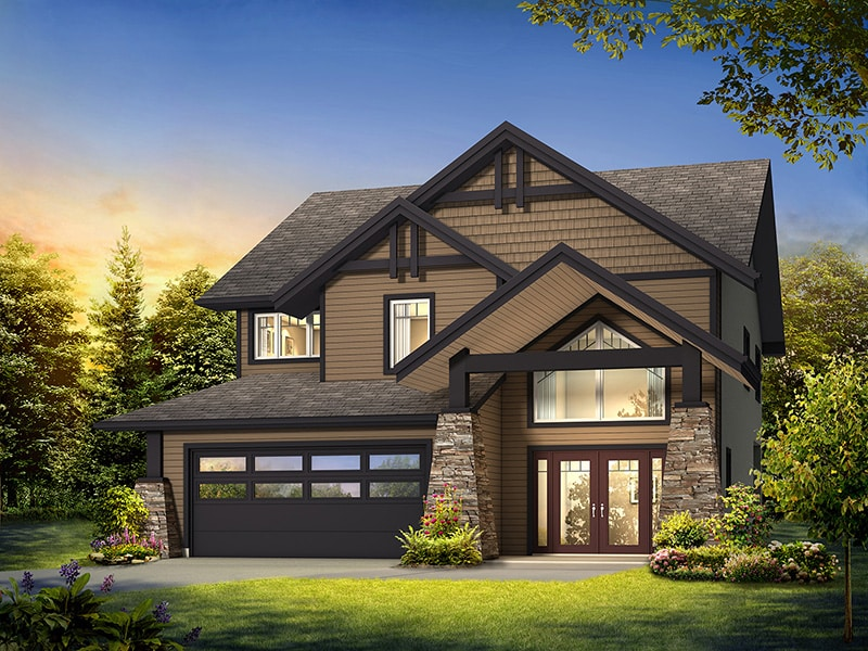 The Oakmont By A S Build In Canada
