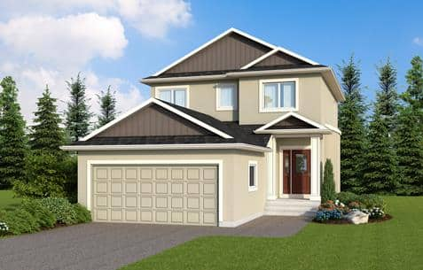 The Cottonwood by Broadview Homes