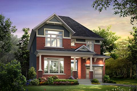 The Bergen by Claridge Homes