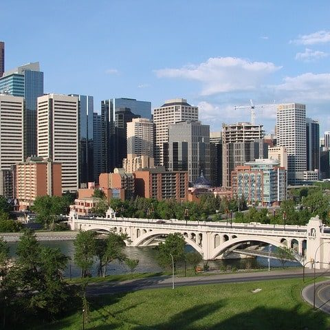 Calgary Home Builder and Community Skyline